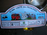 2014 La route des Praslines 15 juin