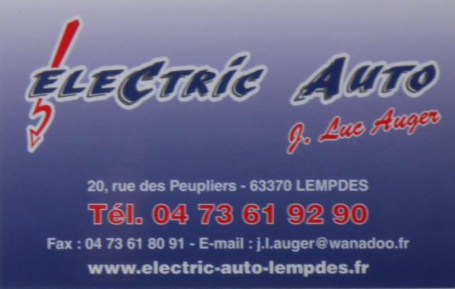 Electric auto 2017 plaque