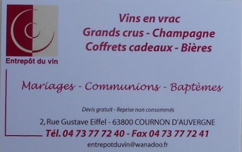 Entrepots du vin